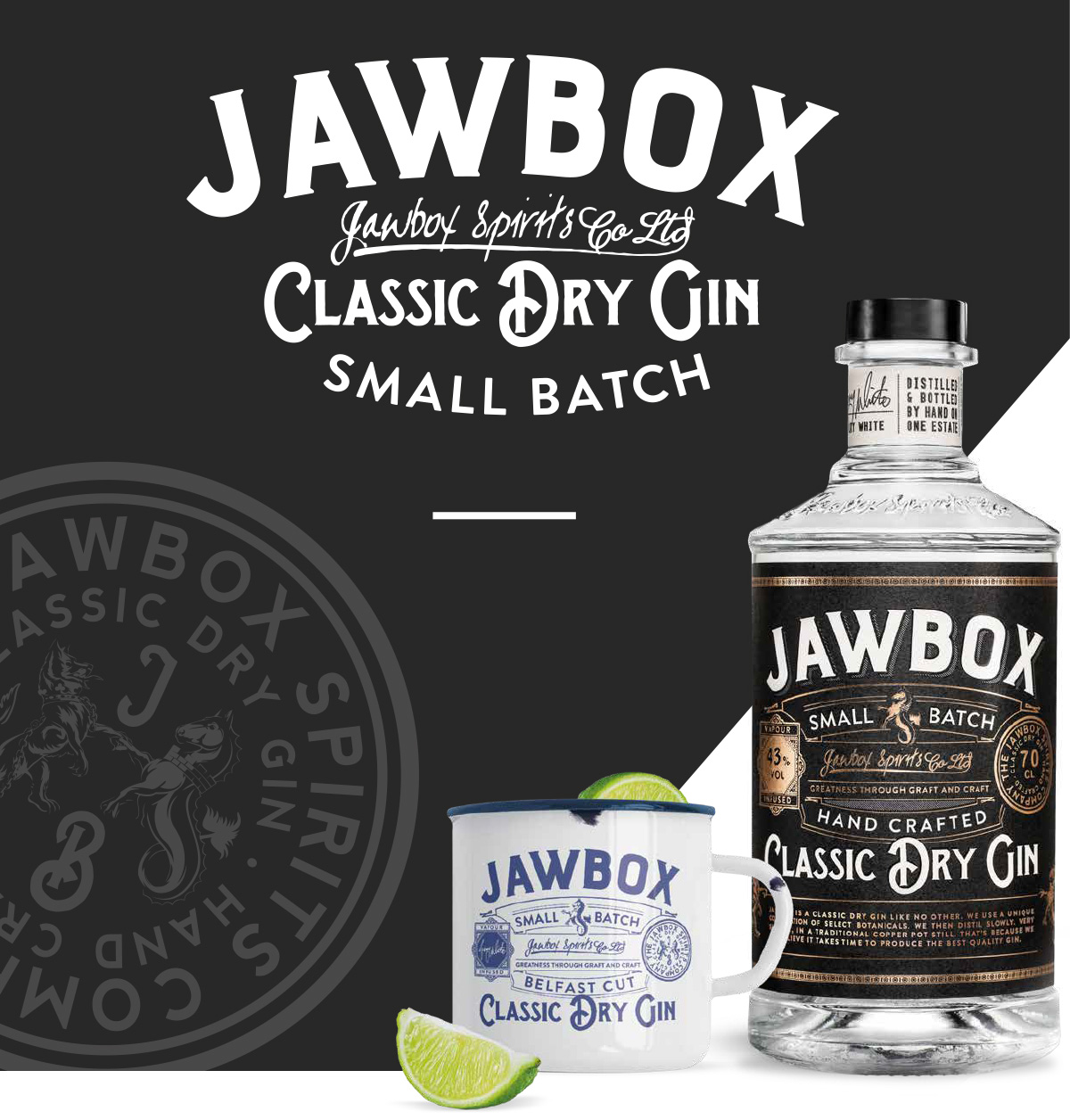 Jawbox Gin Small Batch