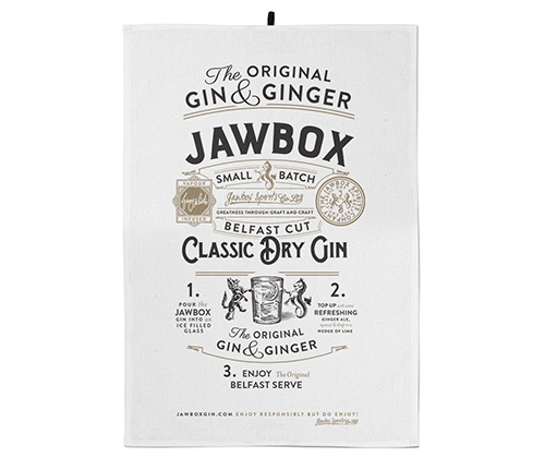 Jawbox Tea Towel